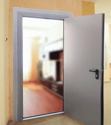 входная противопожарная дверь в квартиру